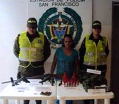 CAPTURA MUJER BANDA ALIAS ROQUE, EN SAN FRANCISCO