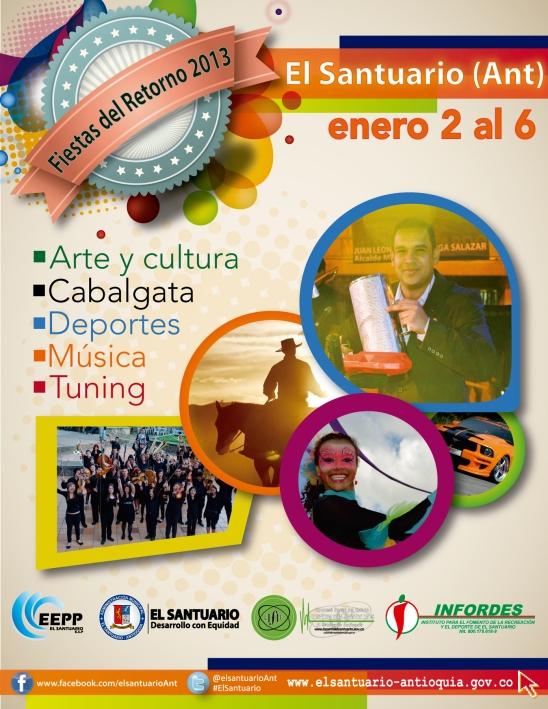 FIESTAS DEL RETORNO EL SANTUARIO 2013