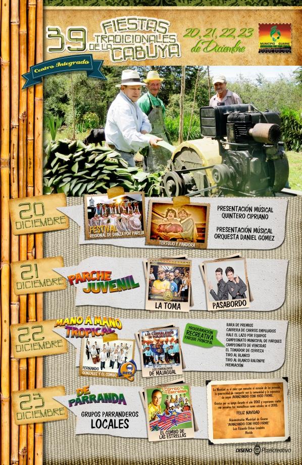 Periodico 39 Fiestas De La Cabuya 2012 PROGRAMACIÓN