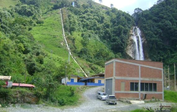 Pequeña Central Hidroeléctrica La Cascada, de Abejorral