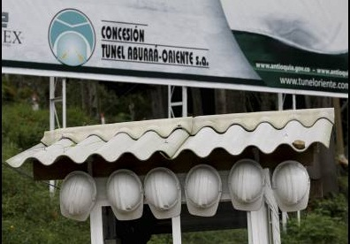 TUNEL DE ORIENTE SUSPENSION OBRA ELCOLOMBIANO