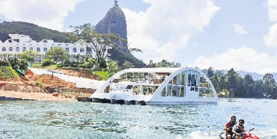 YATE DE LUJO EN GUATAPE