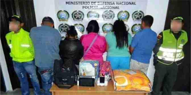CAPTURA BANDA HURTO DE FINCAS ORIENTE ANTIOQUEÑO