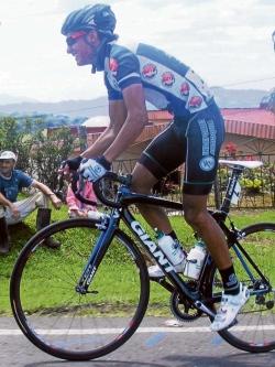 ciclista Argiro Ospina