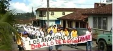 PROTESTA HOSPITAL SAN JUAN DE DIOS DE EL PEÑOL